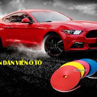 Cuộn dán viền lốp xe ô tô
