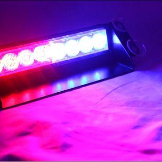 Đèn led Police báo động xanh đỏ