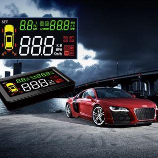 Bộ hiển thị tốc độ và áp xuất lốp lên kính lái