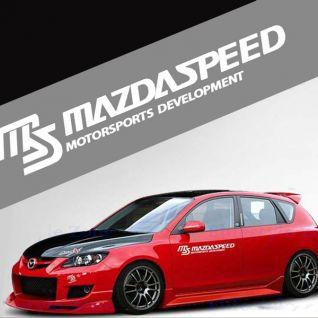 Tem dán thể thao Mazda speed