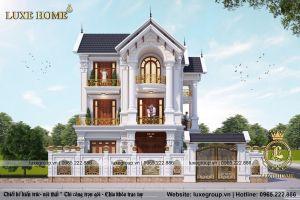 Biệt Thự Pháp Tân Cổ Điển 3 Tầng Tại Nam Định - Mã số: BT 3116