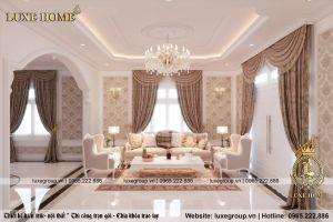 Thiết kế nội thất nhà theo phong cách tân cổ điển - Mã số: NT 2112