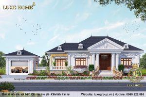 Biệt Thự Sân Vườn Cổ Điển Tại Đồng Nai - Mã số: BT 1112