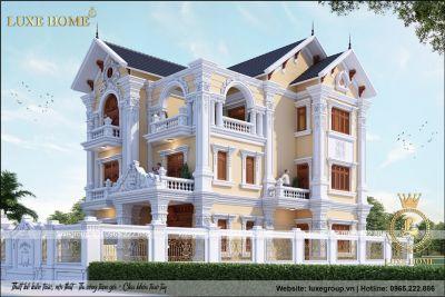 Giám Sát Thi Công Biệt Thự 3 Tầng Tại Ninh Bình Luxe Home