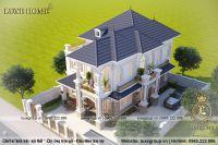 Thiết kế biệt thự 2 tầng đẹp tân cổ điển kiểu dáng châu âu - BT 21522