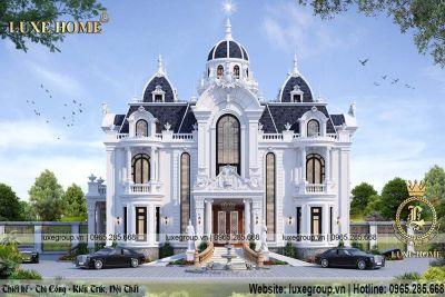 Mẫu lâu đài tân cổ điển 2 tầng kiểu pháp – LD 2208