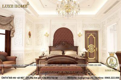 Phòng ngủ tân cổ điển đầy đủ tiện nghi – NT 11382