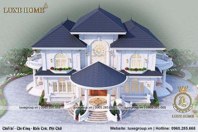 Nhà biệt thự 2 tầng đẹp của Anh Phong ở Hải Phòng – BT 21981