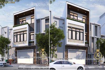 Ngắm nhìn mẫu thiết kế biệt thự 3 tầng hiện đại – BT31788