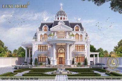 Lâu đài 3 tầng tân cổ điển kiến trúc Pháp đẳng cấp - LD 3201