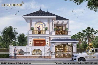 Biệt thự 2 tầng mái thái, nhà Anh Khang Thanh Hóa BT - 2216
