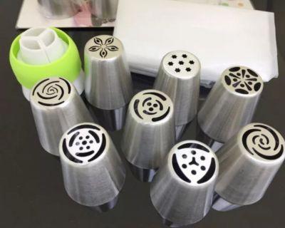 Bộ đui 3D trang trí bánh kem gồm 9 đui