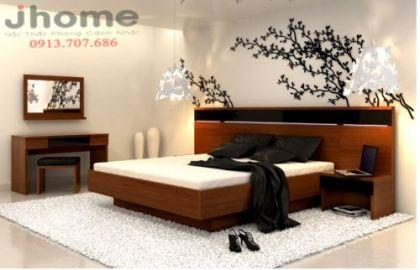 Giường ngủ 77 - Nội thất Jhome
