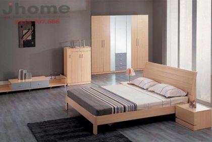 Giường ngủ 80 - Nội thất Jhome