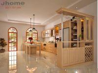Nên chọn chất liệu gỗ gì để làm tủ bếp? - Nội thất Jhome