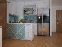 Thiết kế nội thất phòng bếp chung cư Park 2 Times City - Nội thất Jhome