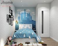 Thiết kế nội thất phòng ngủ bé trai chung cư Goldmark City - Nội thất Jhome