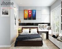 Thiết kế nội thất phòng ngủ master chung cư Goldmark City - Nội thất Jhome