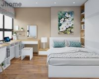Thiết kế nội thất phòng ngủ chung cư Capital Garden - Nội thất Jhome