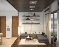 Thiết kế nội thất phòng khách chung cư Park Hill - Nội thất Jhome