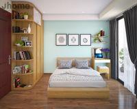 Thiết kế nội thất phòng ngủ chung cư VP2 Linh Đàm - Nội thất Jhome