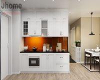 Thiết kế nội thất phòng bếp chung cư Golden West - Nội thất Jhome