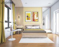 Thiết kế nội thất phòng ngủ master chung cư Times City - Nội thất Jhome