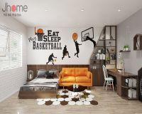 Thiết kế nội thất phòng ngủ biệt thự Vinhomes - Nội thất Jhome
