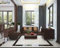 Thiết kế nội thất phòng khách biệt thự Ecopark - Nội thất Jhome