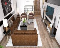 Thiết kế nội thất nhà phố hiện đại - Nội thất Jhome