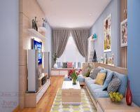 Thiết kế nội thất nhà phố Lâm Du - Nội thất Jhome