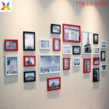 Bộ khung tranh treo tường TTB10