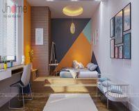 Thiết kế nội thất phòng ngủ con trai chung cư tòa L3 Ciputra - Nội thất Jhome