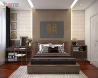 Thiết kế nội thất phòng ngủ master chung cư Capital Garden nhà chị Dung - Nội thất Jhome
