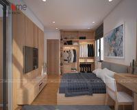 Thiết kế nội thất phòng ngủ chung cư Park Hill nhà chị Giang - Nội thất Jhome