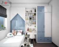 Thiết kế nội thất phòng ngủ con biệt thự Ecopark nhà chị Phương - Nội thất Jhome