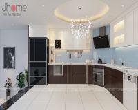 Thiết kế nội thất phòng bếp nhà phố Nguyễn Thị Định - Nội thất Jhome