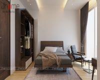 Thiết kế nội thất phòng ngủ master nhà phố Nguyễn Thị Định - Nội thất Jhome