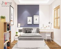 Thiết kế nội thất phòng ngủ con trai nhà phố Nguyễn Thị Định - Nội thất Jhome