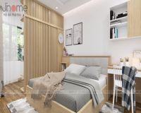 Thiết kế nội thất phòng ngủ gam màu sáng - Nội thất Jhome