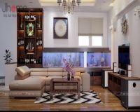 Thiết kế, thi công nội thất nhà phố Dương Quảng Hàm - Nội thất Jhome