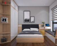 Thiết kế, thi công nội thất phòng ngủ master chung cư G5 Five Star - Nội thất Jhome