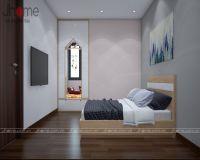 Thiết kế, thi công nội thất phòng ngủ ông bà chung cư G5 Five Star - Nội thất Jhome