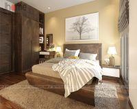 Thiết kế, thi công nội thất phòng ngủ master chung cư New Skyline Văn Quán - Nội thất Jhome