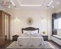 Thiết kế phòng ngủ nhà phố phong cách tân cổ điển - Nội thất Jhome