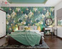 Thiết kế phòng ngủ nhà phố màu xanh lá ấn tượng - Nội thất Jhome