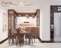 Thiết kế nội thất phòng bếp biệt thự ở Quảng Ninh - Nội thất Jhome