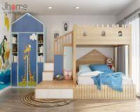 Thiết kế nội thất phòng ngủ trẻ em chung cư Vimeco - Nội thất Jhome
