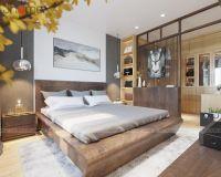 Thiết kế nội thất phòng ngủ master biệt thự Park City - Nội thất Jhome