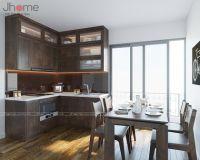 Thiết kế nội thất phòng bếp nhà phố ở Nghi Tàm - Nội thất Jhome